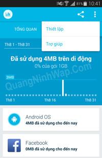 Onavo Count - Ứng dụng quản lý dữ liệu thông minh cho android