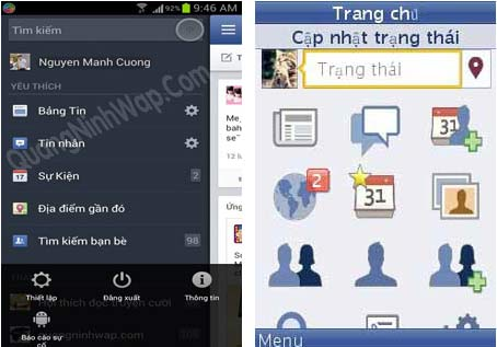 phan mem facebook android va java