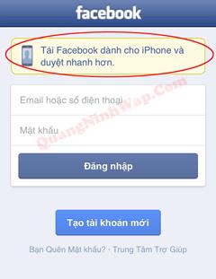 Cach tai facebook phien ban moi