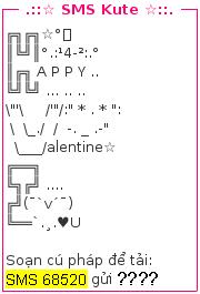 Tin nhan valentine - sms valentine